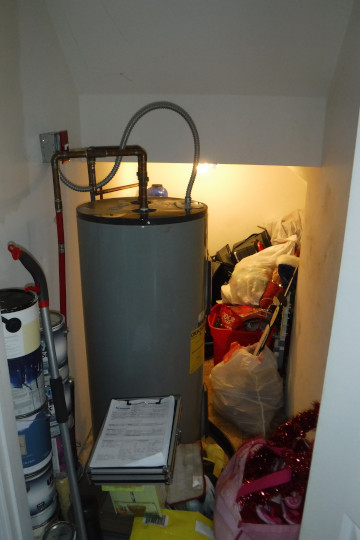 Hot Water Heater Before